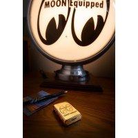 MOON Equipped Zippo Lighter (Brass)