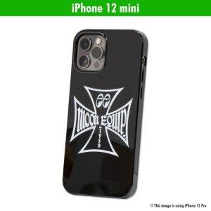 Photo1: MOON Equipped Iron Cross iPhone 12 mini Hard Case