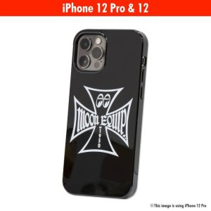 Photo1: MOON Equipped Iron Cross iPhone 12, 12 Pro Hard Case
