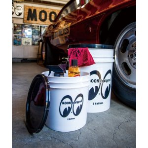 Photo1: MOON Equipped Bucket (5 Gallons) White