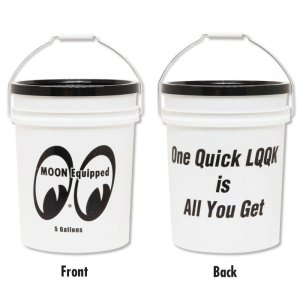 Photo2: MOON Equipped Bucket (5 Gallons) White