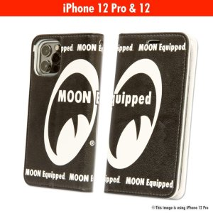 Photo2: MOON  Equipped iPhone 12, 12 Pro Flip Case
