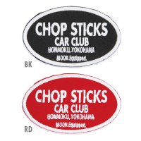 MOON Equipped Chop Sticks Car Club Patch
