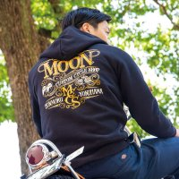 MOON Custom Cycle Shop Zip Hoodie