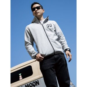 Photo2: MOON Equipped Dry Sweat Hoodie
