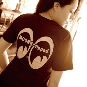Photo1: MOON Equipped Ladies T-Shirt