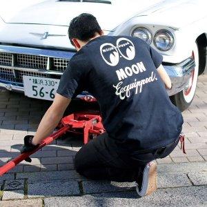 Photo2: MOON Equipped Logo T-Shirt