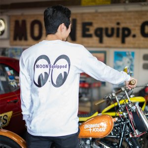 Photo1: MOON Equipped Long Sleeve T-Shirt with Pocket