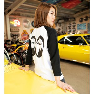 Photo5: MOON Equipped 3/4 Sleeve T-shirt