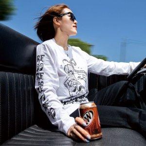 Photo1: Rat Fink x MOON  Equipped Long Sleeve T-shirt