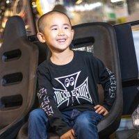 Kids Iron Cross Long Sleeve T-shirt