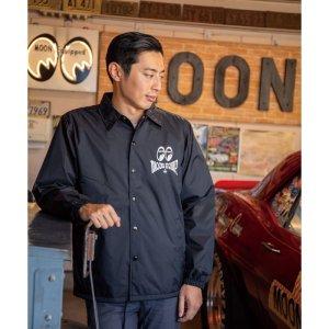 Photo2: MOON Equipped Iron Cross Coach Jacket
