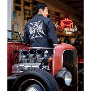 Photo1: MOON Equipped Iron Cross Coach Jacket