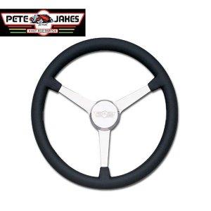 Photo1: Pete & Jakes Newstalagia Billet Steering Wheels 3spoke