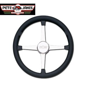Photo1: Pete & Jakes Newstalagia Billet Steering Wheels 4spoke