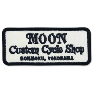 Photo1: MOON Custom Cycle Shop Patches