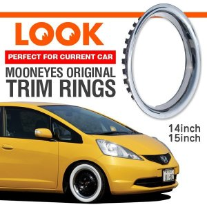 Photo1: Stainless Trim Ring 14inch / 15inch