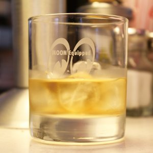 Photo1: MOON Classic Rock Glass
