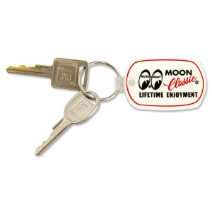 Photo2: MOON Classic Rubber Key Ring