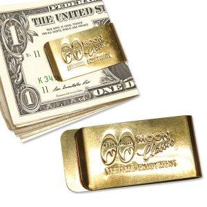 Photo2: MOON Classic Money Clip