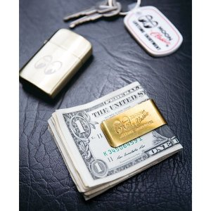 Photo1: MOON Classic Money Clip