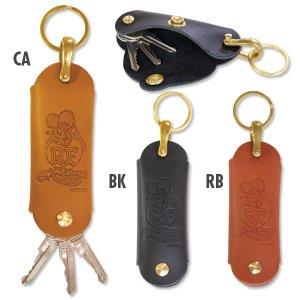 Photo2: Rat Fink Leather Hook Key