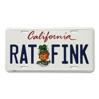 Rat Fink California Plate