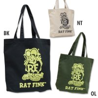 Rat Fink Color Tote Bag