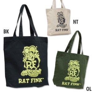 Photo1: Rat Fink Color Tote Bag