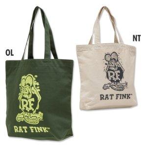 Photo2: Rat Fink Color Tote Bag