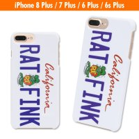 Rat Fink iPhone8 Plus,iPhone7 Plus & iPhone6/6s Plus Hard Cover California Plate
