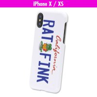 Rat Fink iPhone X, XS Hard Cover California Plate