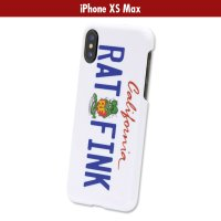 Rat Fink iPhone XS Max Hard Cover California Plate