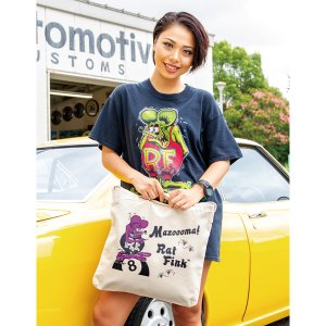 Photo1: Rat Fink Mazooma! Tote