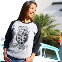 Rat Fink Raglan 3/4 Sleeve Shirt