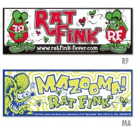 Rat Fink Bumper Decal