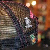 Rat Fink Hat Pin Black