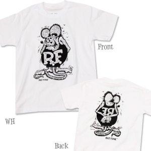 Photo2: Rat Fink Mono T-Shirt