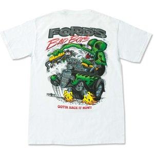 "Photo2: Rat Fink Monster T-Shirt ""FORD Bad Boys"""