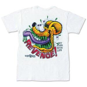 """Photo2: Rat Fink Monster T-Shirt """"Revenge in Rod"""""""