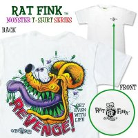 "Rat Fink Monster T-Shirt ""Revenge in Rod"""