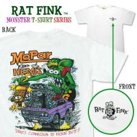 "Rat Fink Monster T-Shirt ""Mopar King of Hemi"""