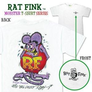 """Photo1: Rat Fink Monster T-Shirt """"Purple Passion"""""""
