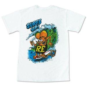 "Photo2: Rat Fink Monster T-Shirt ""Surf Up!"""