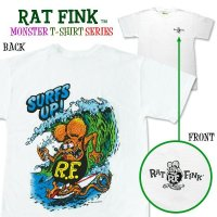 "Rat Fink Monster T-Shirt ""Surf Up!"""