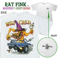 "Rat Fink Monster T-Shirt ""Wild Child"""