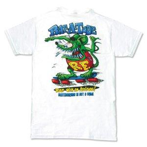 "Photo2: Rat Fink Monster T-Shirt ""Rat-a-Tude"""