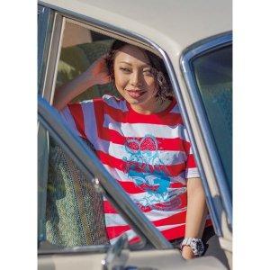 Photo2: Rat Fink Border T-shirt