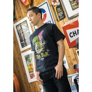 Photo1: Rat Fink Face T-shirt