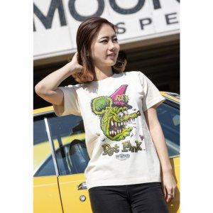 Photo2: Rat Fink Face T-shirt
